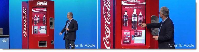 15. Next-Gen Coke vending machine with touch screen ++