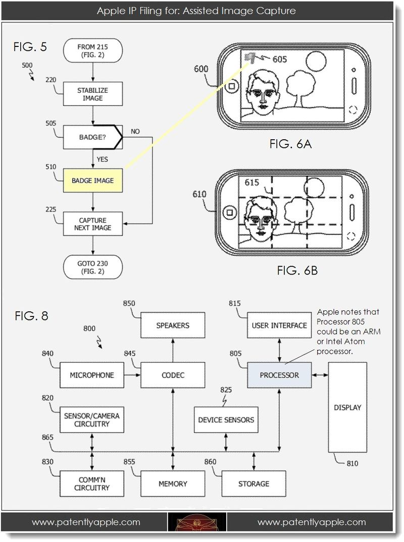 3. Apple IP Filing for - Assisted Image Capture