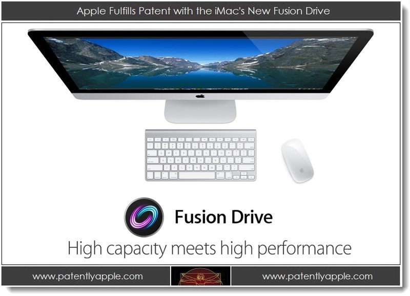 1. Apple Fulfills Patent with the iMac's New Fusion Drive
