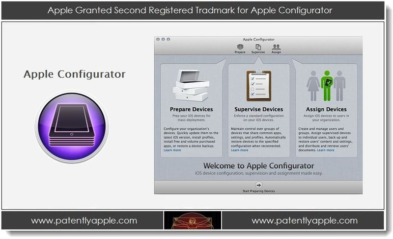 1 - Apple Granted Second Registered TM for Apple Configurator