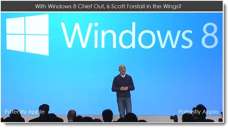 1. With Windows 8 Chief Out, is Scott Forstall in the Wings