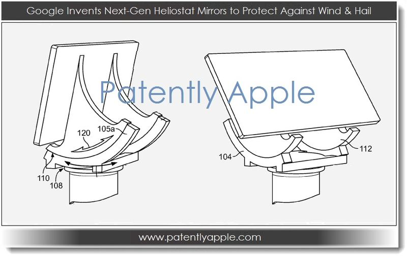 2. Google invents next-gen heliostat mirrors to protect against wind and hail