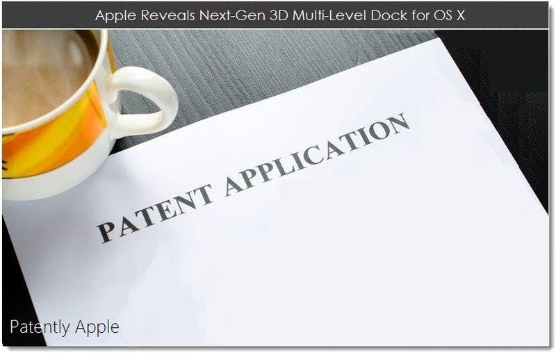 1. Apple Reveals Next-Gen 3D Multi-Level Dock for OS X