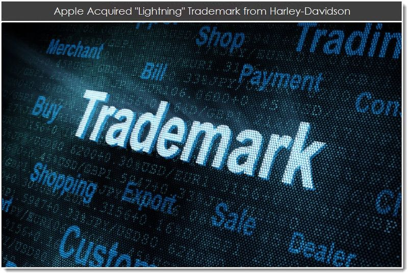 1. Apple Acquired Lightning Trademark from Harley-Davidson