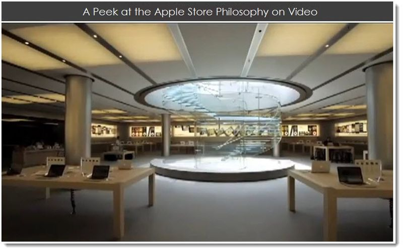 1. A Peek at the Apple Store Philosophy on Video