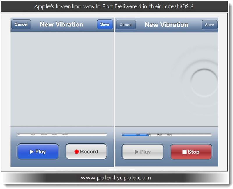 4. Apple's Invention was in part delivered in their latest iOS 6