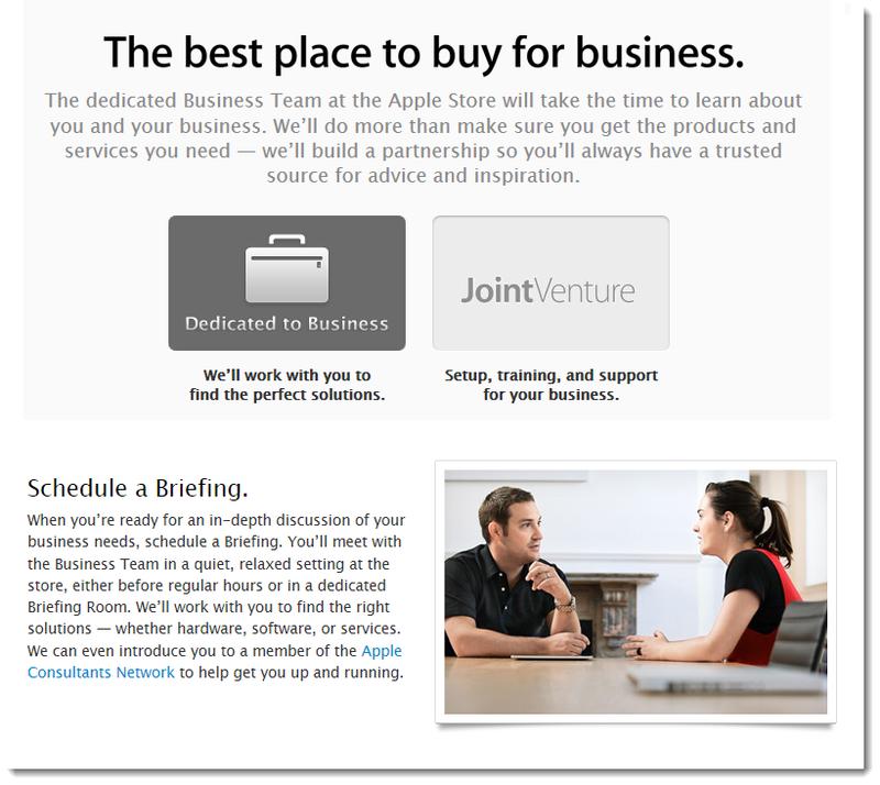 3. Briefing Room, Apple website graphics