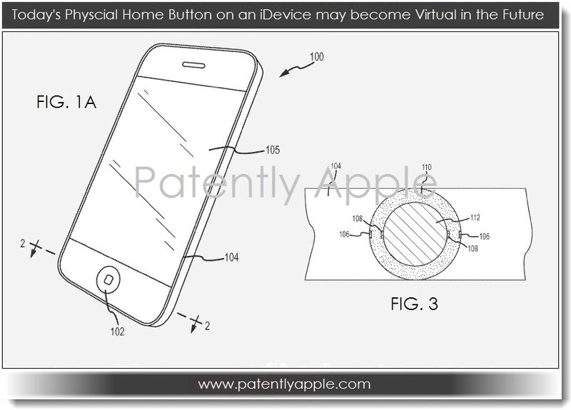 2. Physcial Home Button on iDevices may become Virtual