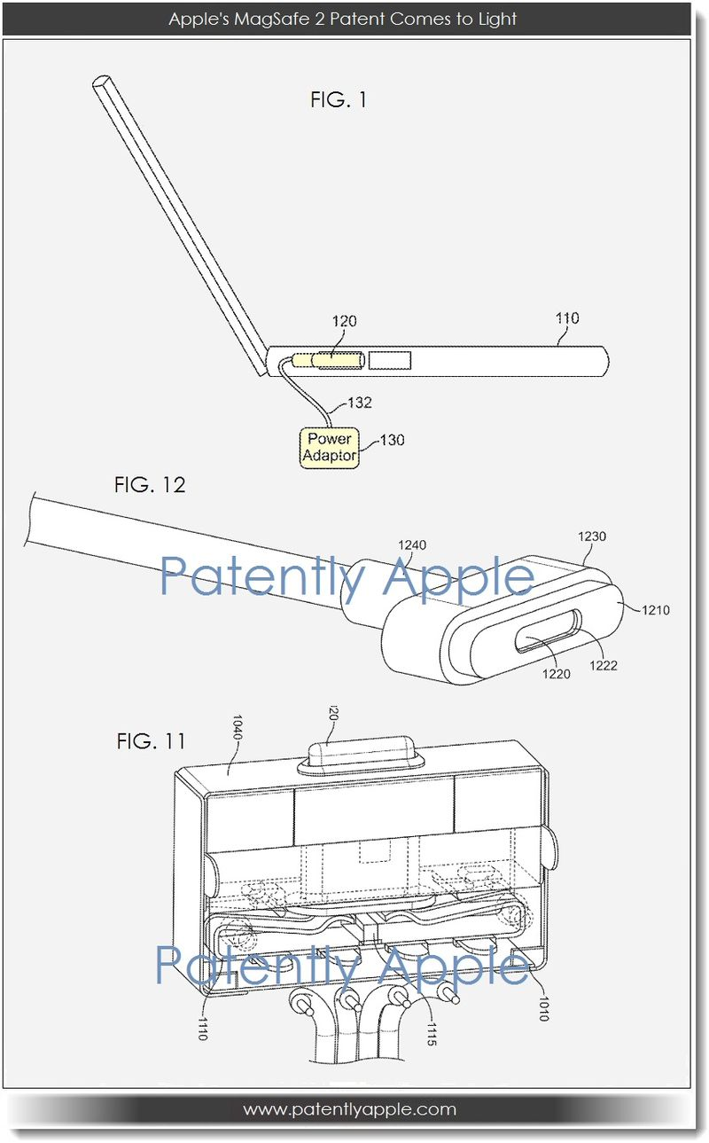 2. Apple's MagSafe 2 Patent Comes to Light
