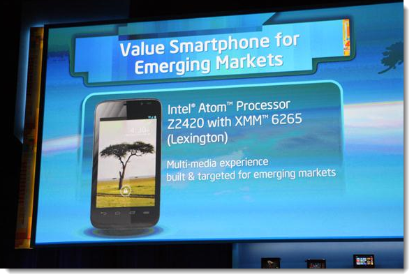 2. Intel, Emerging Markets, CES 2013