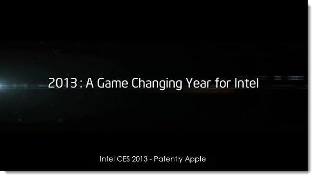 7. 2013 - game changing year for intel