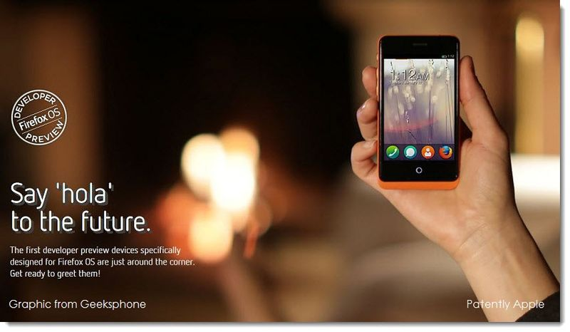 1. Firefox OS on the horizon