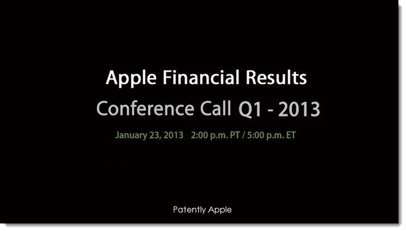 2.  Apple financial Results