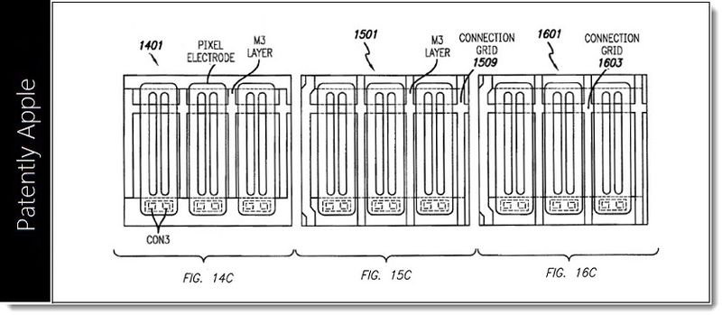 2. Apple granted patent Jan 29, 2013, Integrated Touch