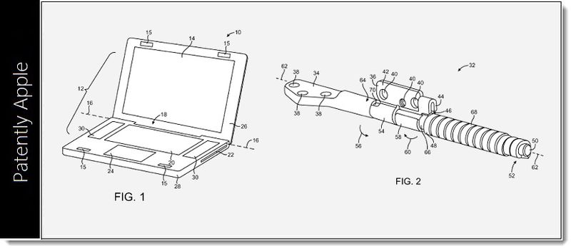 6. MacBook Cluch Structure Granted Patent, Apple Jan 29, 2013