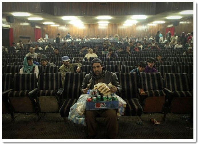 3. Going to Movies, Afganistan style