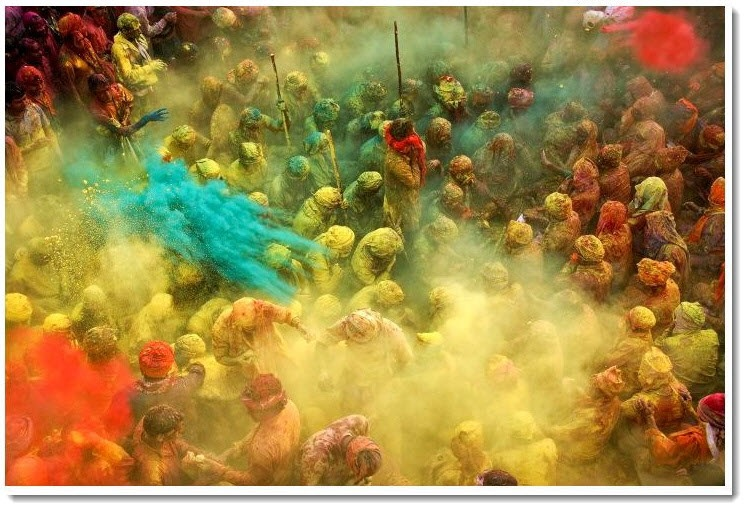 4. This is the Festival of Colors. LSD not included