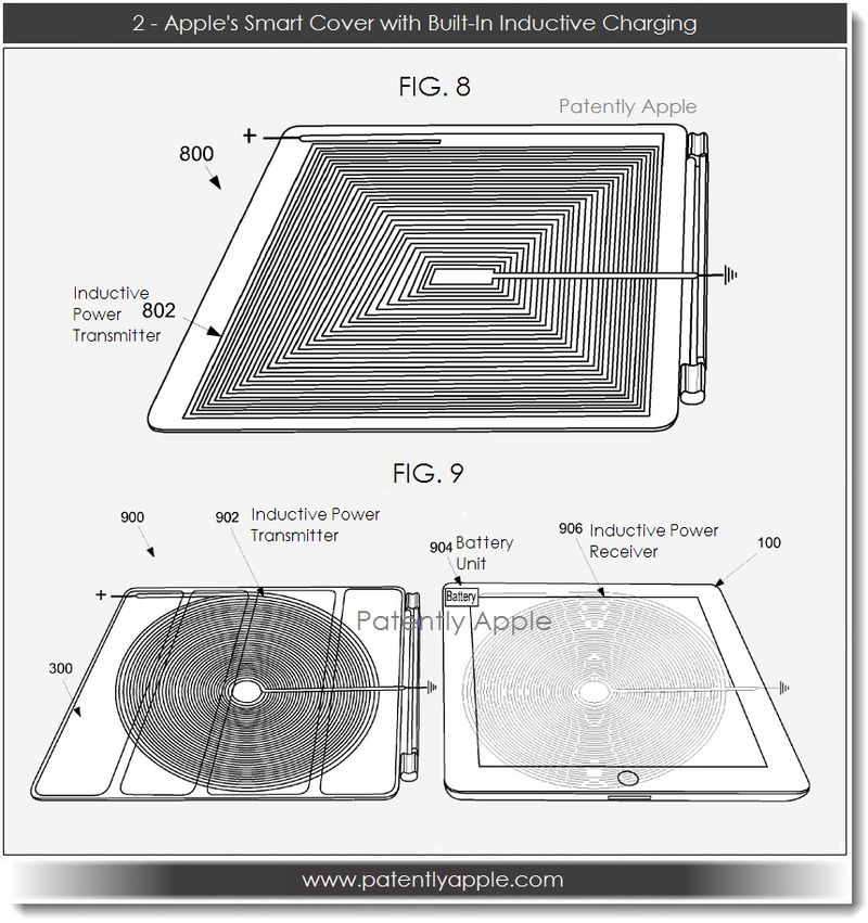 3. #2 Apple Smart Cover with Built-in Inductive Charging