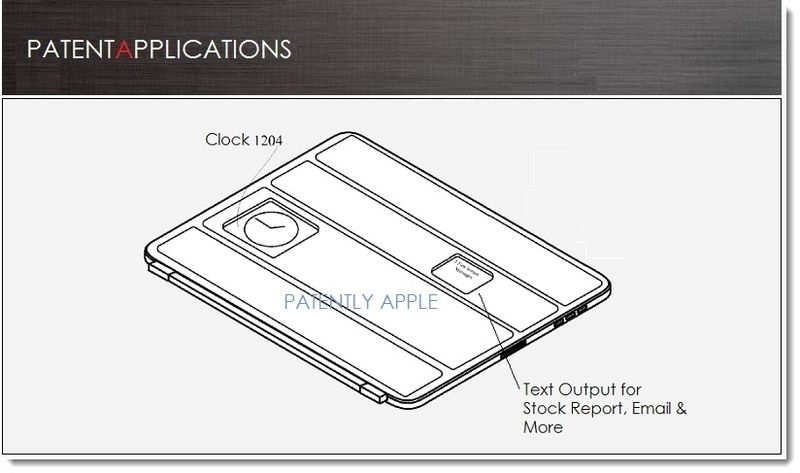 1. COVER, Apple patent, New Smart Cover Features