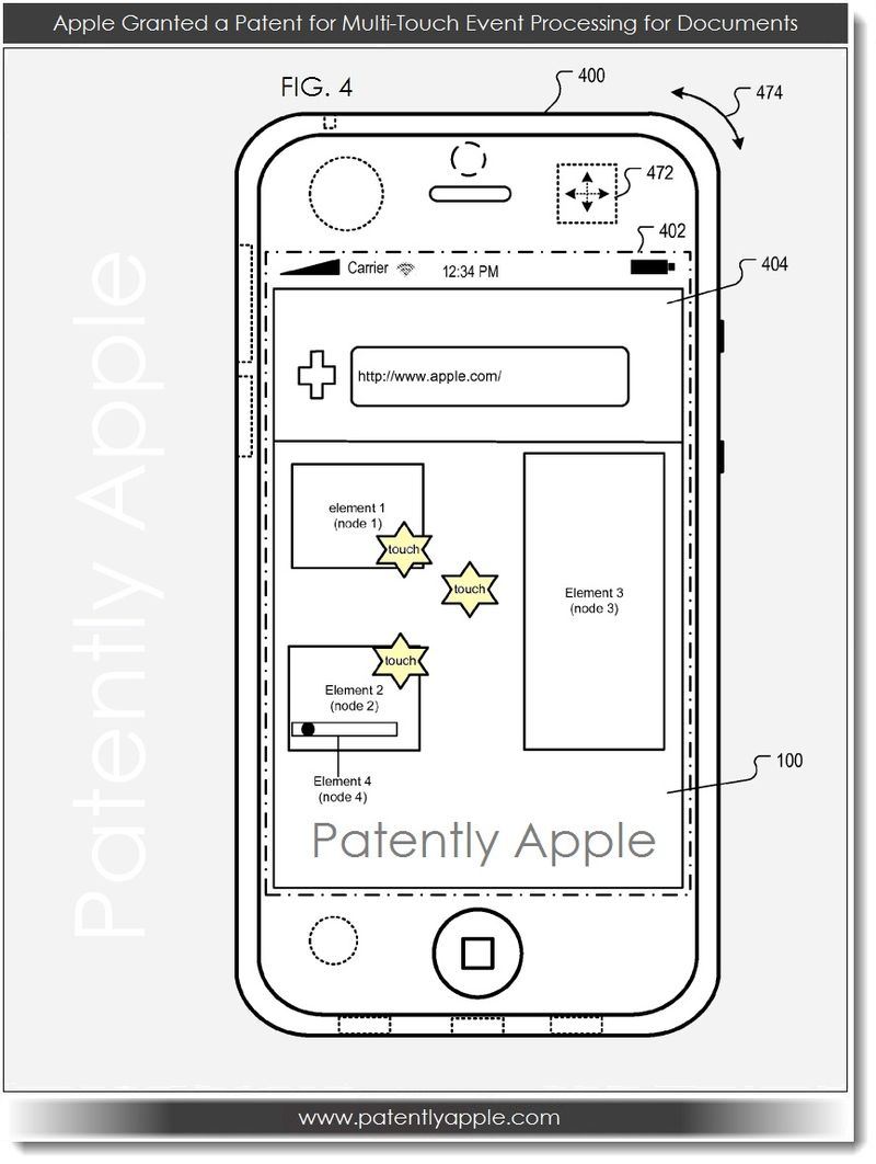 5. Apple Granted Multi-Touch Patent for iPhone, April 2013
