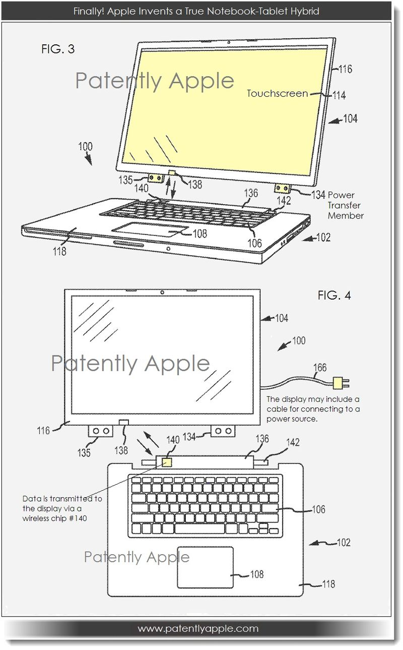 2A. Finally, Apple invents a true notebook tablet hybrid
