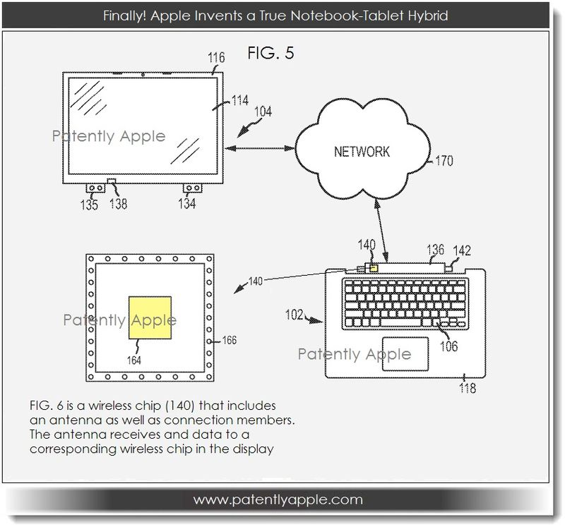 3A. Apple, notebook tablet hybrid patent