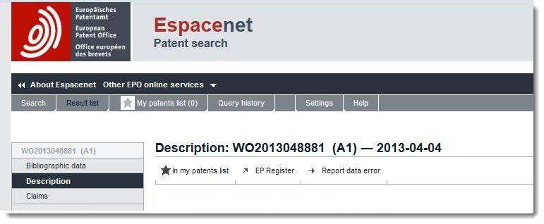 6. Apple's EU Patent Filing