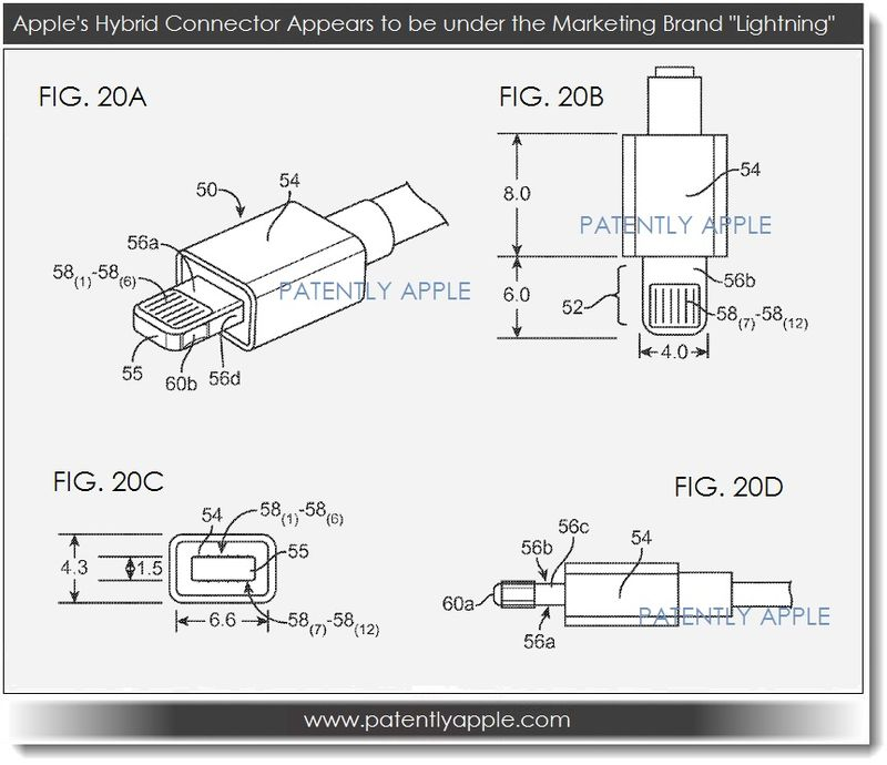 Apple Lightning Connector Wiring Diagram : New ipod connector cable wiring diagram usb cord wire
