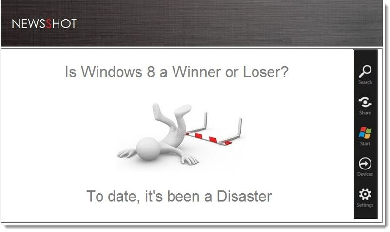 1. Cover - Windows is a disaster