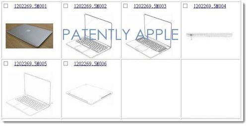 8a. Apple Granted 6 MacBook Related Design Patents in Hong Kong