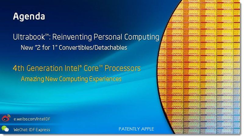 2A. Intel IDF 2013 Utrabook Convertibles 2 for 1 computing