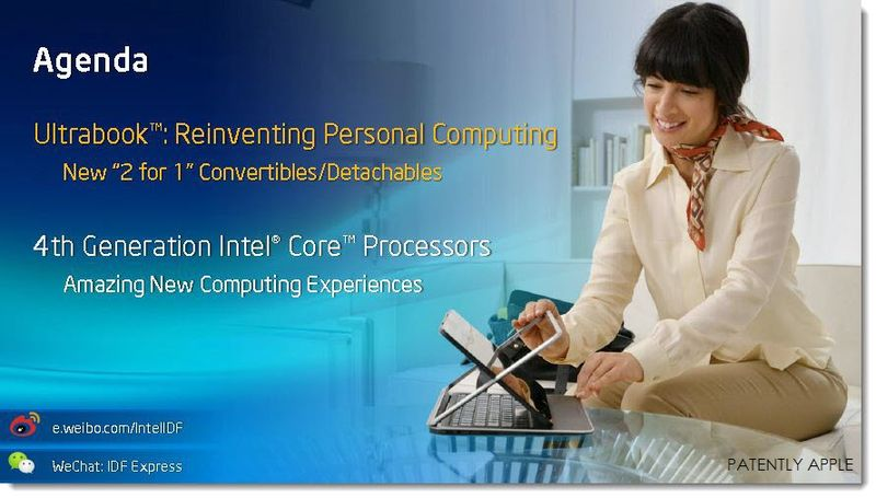 3A. Intel IDF 2013 - Ultrabook Convertible, 2 for 1