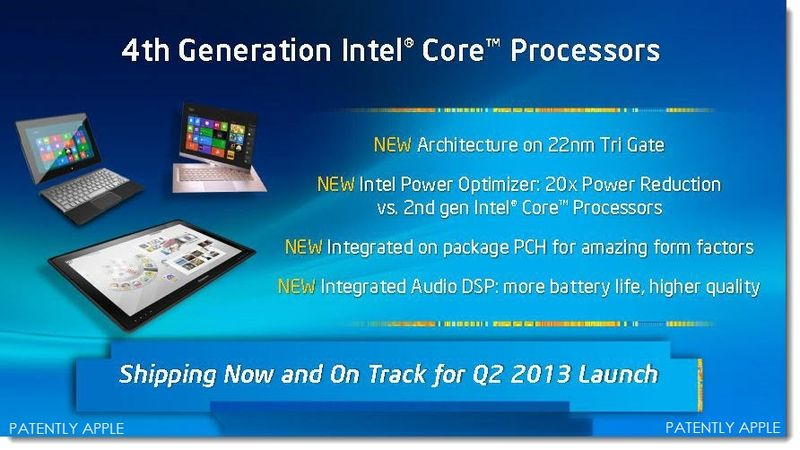 8A. Intel IDF 2013 - 4TH Gen Core Processors