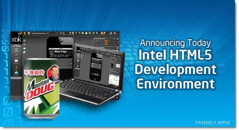 EXTRA IDF SLIDE # 1A - INTEL HTML5 DEVELOPER ENVIRONMENT