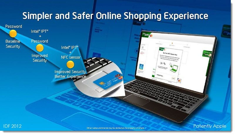 7. IDF Credit Card Shopping on your Notebook with NFC