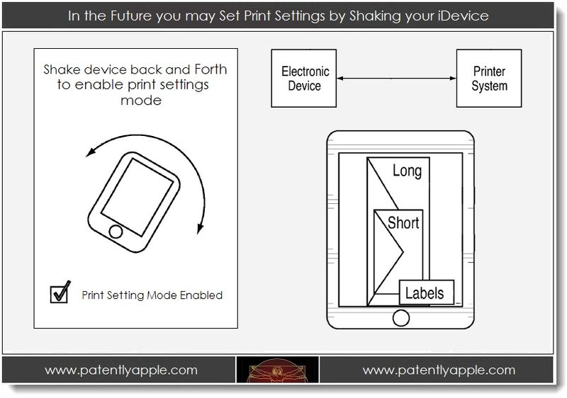 1. In the Future You may Set Print Settings by Shaking your Device