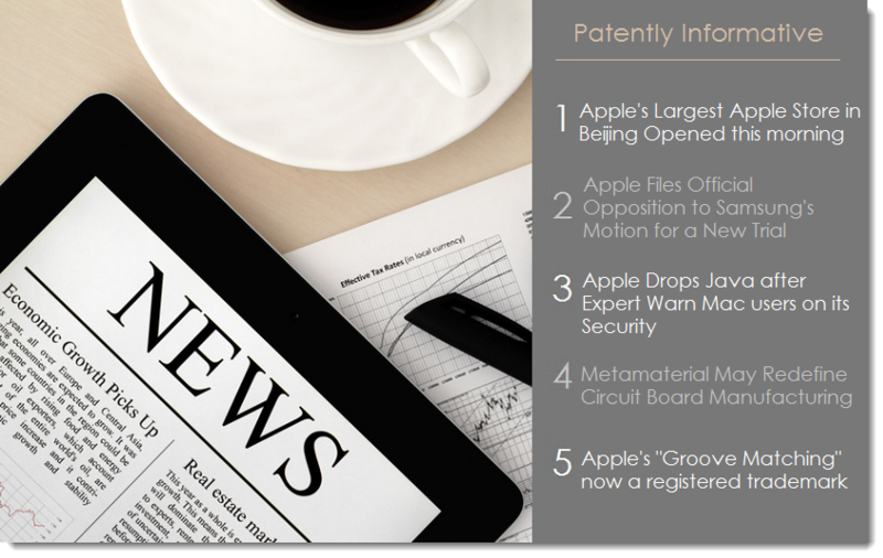 1. Patently Informative - News for Oct 20, 2012