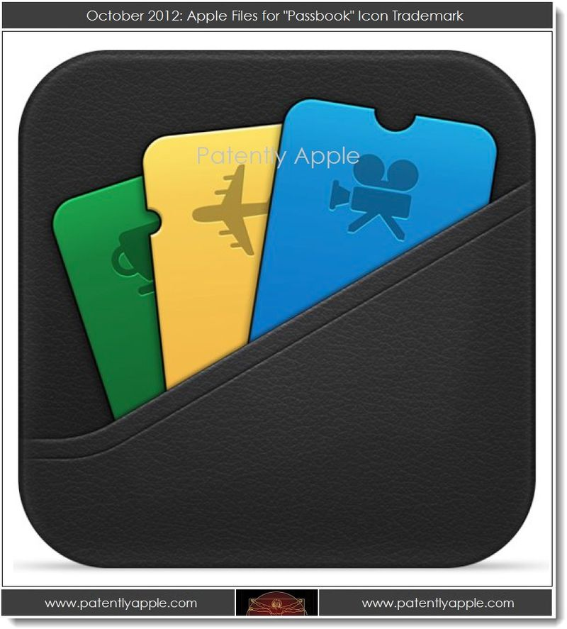 2. Apple files for Passbook Icon TM - Oct 2012