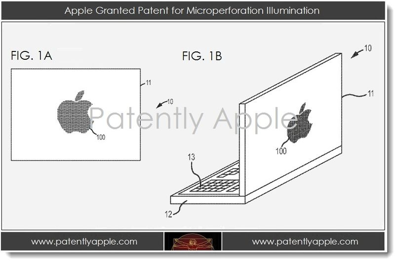 5. Apple Granted Patent for Microperforation Illumination