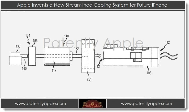 1.1 - Apple invents a new streamlined cooling system for future iPhone