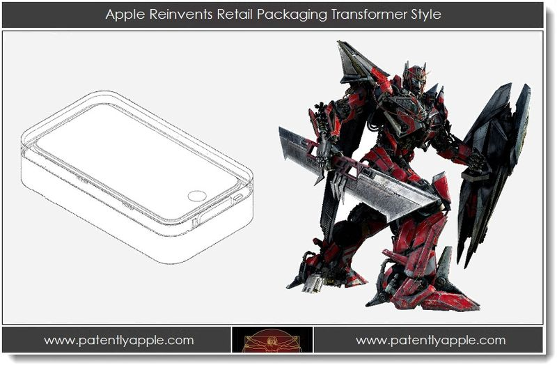 1. Apple Reinvents Retail Packaging Transformer Style