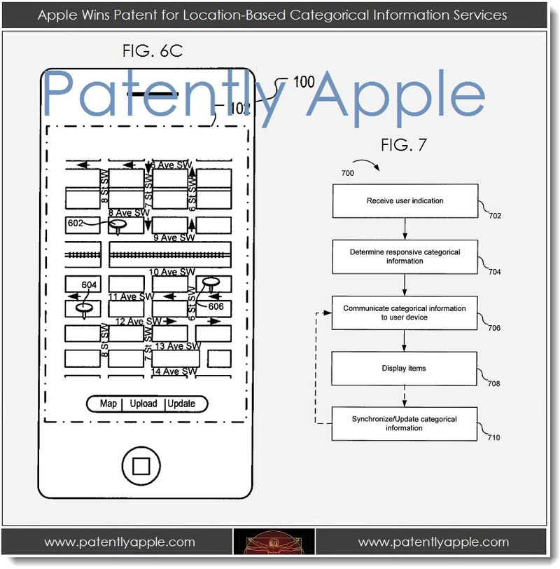 3. 1 - Apple Wins patent for location-based Categorical Information Services