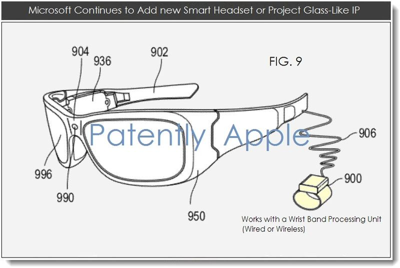 3. New Microsoft smart headset IP Surfaces