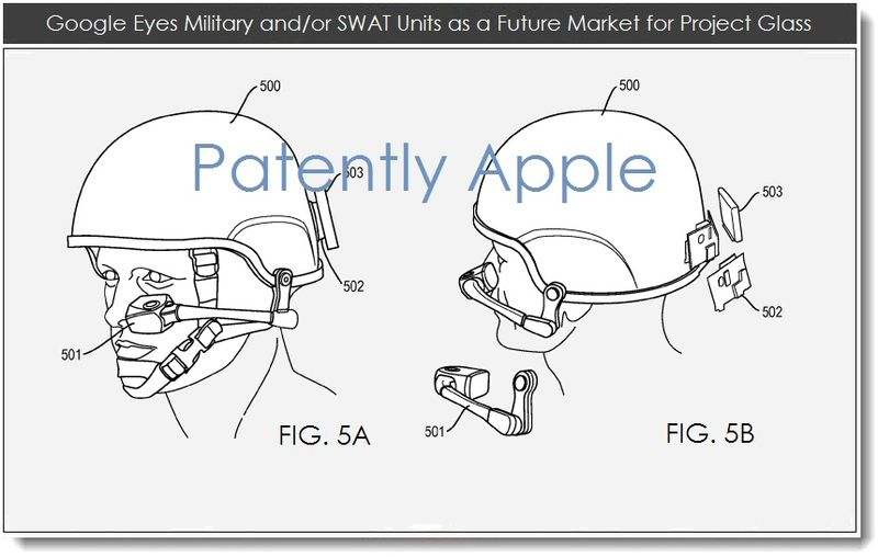 6. Google eyes military and or SWAT units as a future market for project glass
