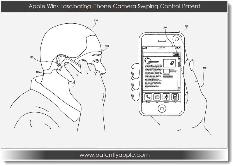 1. Apple Wins Fascinating iPhone Camera Swiping Control Patent