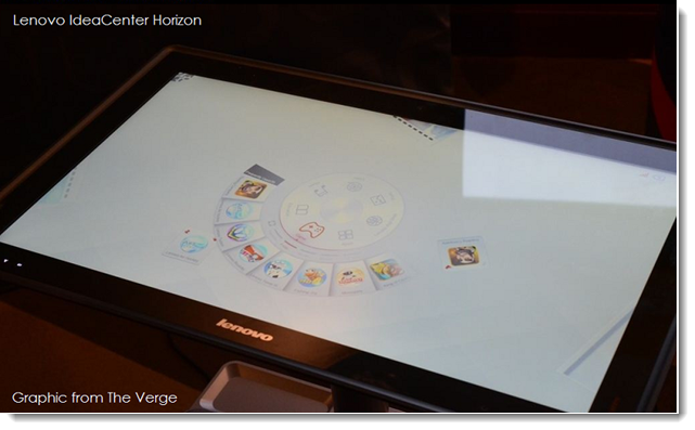 2. Lenovo IdeaCenter Horizon