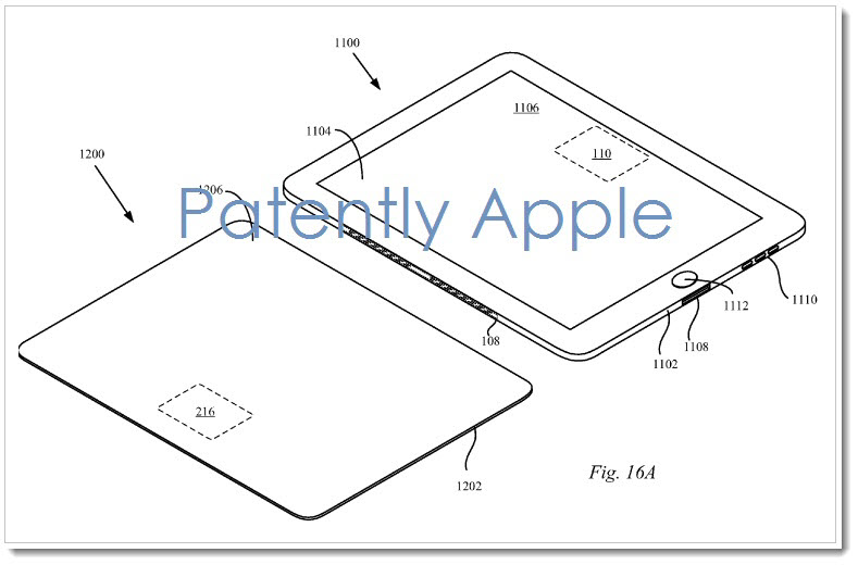 2010 patent for iPad Smart Cover