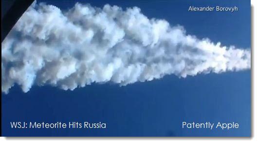2. Meteorite Hits Russia