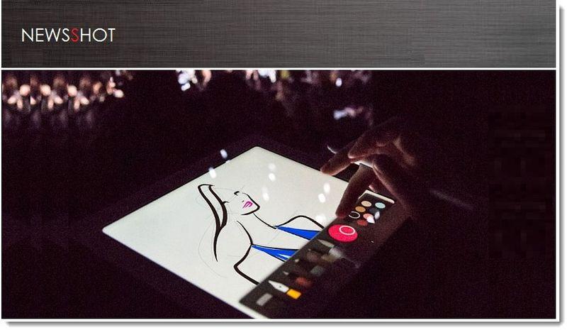 1. Cover. Fashionista love iPad