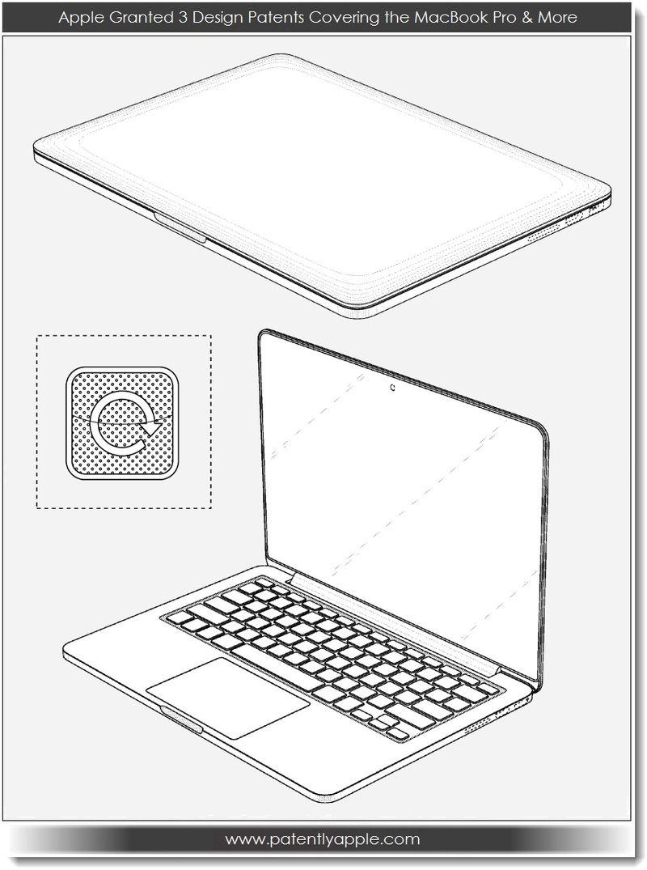 3. Apple Granted 3 Deisgn Patents 02.19.13